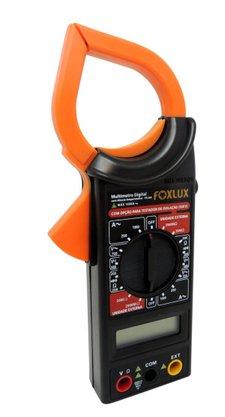 Multimetro Digital com Alicate Amperimetro  FX-AA - FoxLux