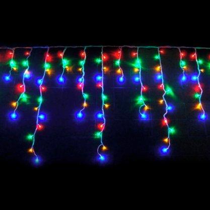 Cascata 400 Lâmpadas Led Color com 8 Funções - 220v