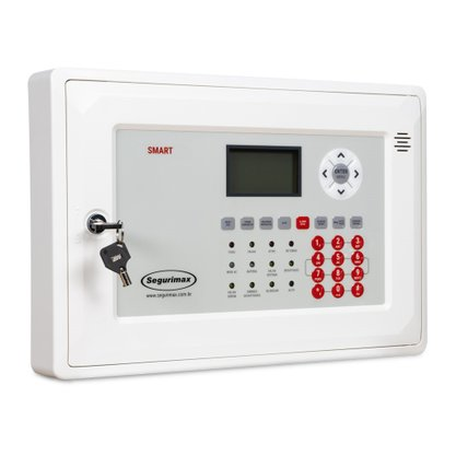 Central de Alarme de Incêndio Endereçável SMART 125L com Bateria Inclusa - Segurimax