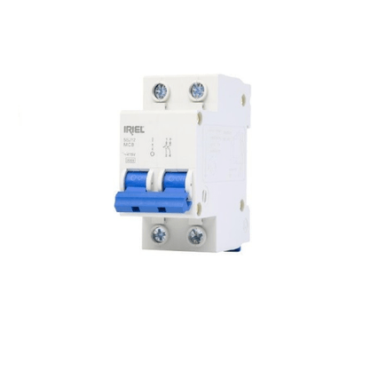 Disjuntor DIN Bipolar 127/220V 40A - Curva C - Iriel