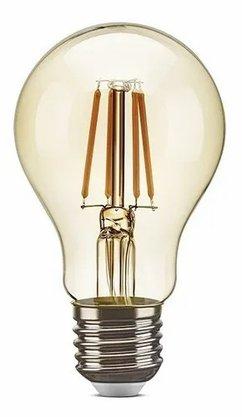 Lampada Decorativa Filamento Led Retro 4W 2200K - A60