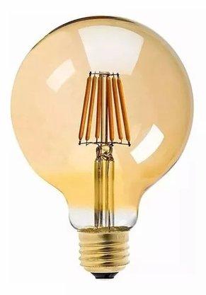 Lampada Decorativa Filamento Vintage Globo 4W G80
