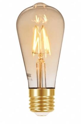 Lampada Decorativa Filamento Vintage Retro 4W ST64