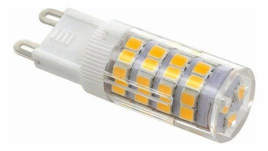 Lampada Halopin Led LED G9 3W 220V 3000K - Branco Quente