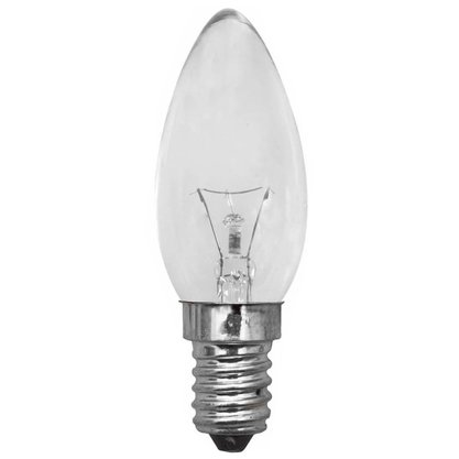 Lampada Vela Lisa Clara 40W - 220V - E14