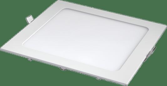 Luminaria Led Plafon Embutir 220X220 18W 3000K - Branco Quente