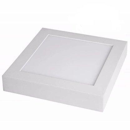 Luminaria Led Plafon Sobrepor 220X220 18W 4000K - Branco Neutro