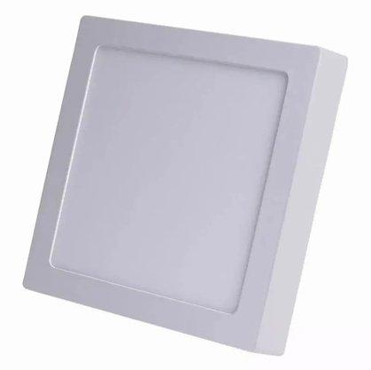 Luminaria Led Plafon Sobrepor 300X300 24W 3000K - Branco Quente