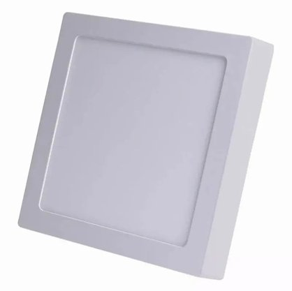Luminaria Led Plafon Sobrepor 300X300 24W 4000K - Branco Neutro