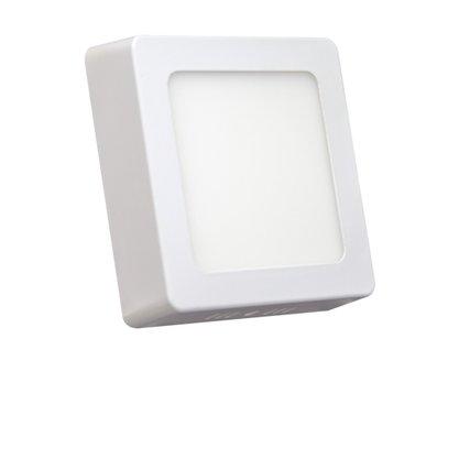 Luminaria Led Plafon Sobrepor 110X110 6W 3000K - Branco Quente