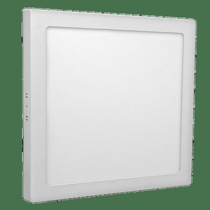 Luminaria Led Plafon Sobrepor 400X400 30w/36w* 3000K - Branco Quente