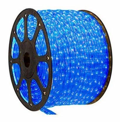 Mangueira Decorativa Led 220V Azul - Rolo 100 metros