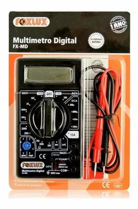 Multimetro Digital FX-MD - FoxLux