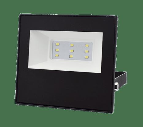 Refletor Holofote Led Bivolt - 10W 3000K - Branco Quente