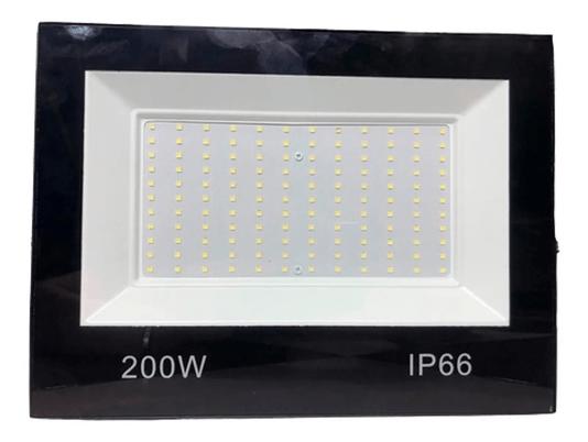 Refletor Holofote Led Bivolt - 200W 6500K - Branco Frio