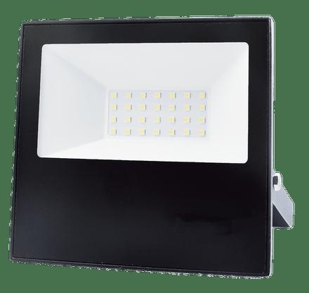 Refletor Holofote Led Bivolt - 30W 3000K - Branco Quente