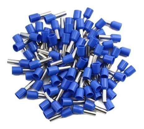 Terminal Tubular Ilhós 16,0mm² - Azul - 50 Unidades