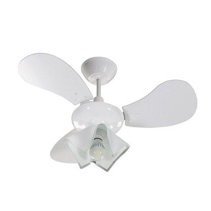 Ventilador De Teto Greco 1 Lâmpada - 220V - 130W - Branco - Tron