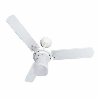 Ventilador de Teto Marbella 3Pás CLM - Branco - 220V - Tron