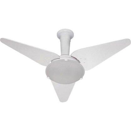 Ventilador De Teto Tron Omena 130W - Com Lustre - Branco - 220V